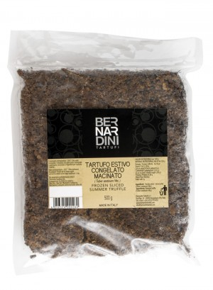 Minced black summer truffle frozen 500g