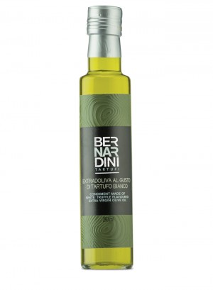 Extra virgin olive oil with white truffle - bottle 250ml