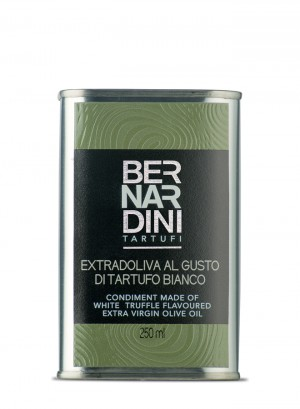 Extra virgin olive oil with white truffle - can 250ml