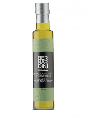 Extra virgin olive oil with black truffle - bottle 250ml